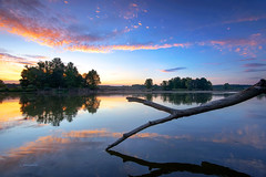Forces of nature (hotonpictures) Tags: sunset poland riverbug