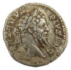 Septimius Severus 193 - 211 AD obv (Welcome to The PAST) Tags: hammered treasure roman brooch medieval hoard republican ironage fibula denarius denarii