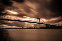 Dramatic bridge (vdb.pierre) Tags: france bordeaux nikond50 garonne bâtiment fleuve pontdaquitaine filtrend1000 pierrevdbphotographe pauselongedurée