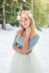 (Anna L. Coleman) Tags: winter portrait mountain snow outdoors washington woods fairies edgy outdoorportrait outdoorphotography teenmodel themeshoot