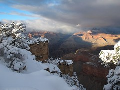 Winter on the Edge (zoniedude1) Tags: winter light sunset shadow arizona snow cold southwest nature outdoors afternoon view snowy grandcanyon rocky canyon adventure explore edge vista rim overlook exploration discovery precipice southrim stormclouds winterstorm ontheedge grandcanyonnationalpark stormyskies matherpoint thebighole gcnp outinthewild zoniedude1 earthnaturelife canonpowershotg12 southrimwinter2016 winterontheedge