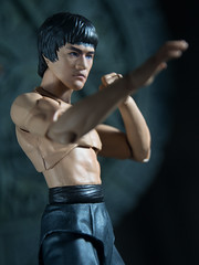 P1294617 (KVN Yeh) Tags: toy toys action figure brucelee bandai shfiguarts