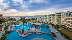 Early evening at the hotel - Canon EOS 7D - Tokina 11-16mm (Beek2012) Tags: pool canon hotel europa europe greece rhodes rhodos grekland canoneos7d iaxa tokina111628 tokina1116mmf28atx atriumplatinumluxuryresorthotelspa