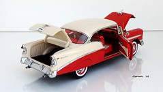1956 Chevrolet Bel Air Sport Coupe Hardtop (JCarnutz) Tags: chevrolet belair 1956 diecast 124scale danburymint