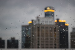 035 / 365 (Tara Gadwell) Tags: city building rain skyscraper droplets gloomy detroit downtowndetroit gmbuilding 365project 365challenge 365daychallenge 365dayproject