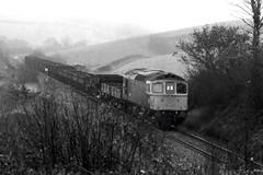 Colebrook Crompton (Stapleton Road) Tags: train railway locomotive sulzer crompton colebrook class33 meldonquarry