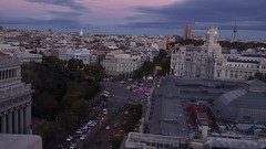 Anochecer Madrid (CarlosCFrias) Tags: madrid timelapse cibeles