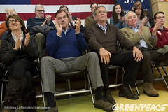 Bush Campaign Rally (Greenpeace USA 2015) Tags: usa democracy bush newhampshire concord vote republican democrat keepitintheground