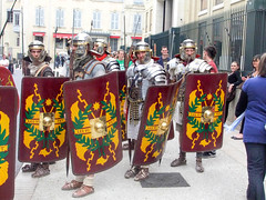 Imperial Cult Ceremony (- Ozymandias -) Tags: france roman amphitheatre hadrian reenactor gladiator nîmes languedocroussillon reenacment