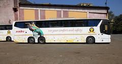 MSRTC ASHWAMEDH SCANIA METROLINK HD 13.7 M Resting At Panvel depot (gouravshinde94) Tags: bus buses m depot hd resting metrolink multi scania 137 axle panvel at msrtc ashwamedh