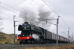 Flying Scotsman (kailhen) Tags: winter mountain cold flying pacific engine steam cumbria a3 express damp scotsman shap lner cumbrian gresley 60103