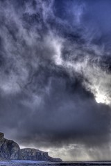 Squall (pauldunn52) Tags: seascape storm heritage beach squall temple bay coast dramatic glamorgan weales