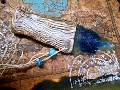 DSCN2586 (LynzCraftz) Tags: art necklace handmade spirit oneofakind goddess polymerclay resin arrowhead pendant amulet renaissancefair swellegant