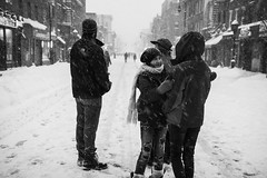 Blizzard 2016 (socram718) Tags: nyc newyorkcity blackandwhite bw snow brooklyn blackwhite snowstorm blizzard 2016 lightroom4 fujifilmx100s tclx100