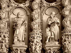 Barocco leccese: particolare dell'altare maggiore nella Chiesa del Ges (Valerio_D) Tags: italy sepia italia baroque 1001nights salento puglia barocco lecce seppia baroccoleccese leccebaroque 1001nightsmagiccity ruby10 2015estate