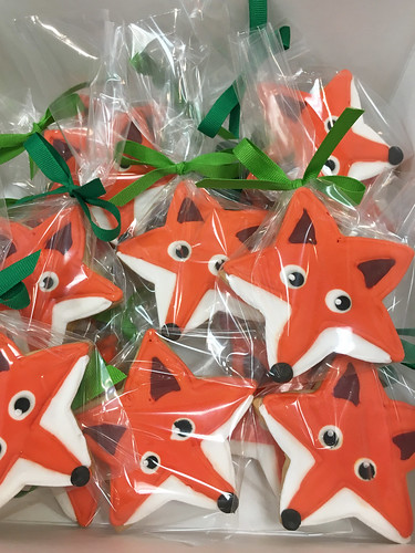 Fox Cookie Favors