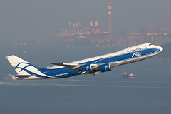 VQ-BRJ Air Bridge Cargo (ColinParker777) Tags: bridge sea chimney home plane canon lens photography boat fly flying photo waves ship aircraft air flight sunny aeroplane cargo cranes hong kong container lap photograph 7d pro shenzhen boeing ru departure takeoff hkg 747 jumbojet jumbo adb kok chek freighter 748 200400 7d2 vhhh 7478f 748f 7dmkii 7dii 7dmk2 vqbrj