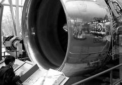 People National Air and Space Museum (patrick_milan) Tags: people blackandwhite bw white black plane noir noiretblanc engine rollsroyce nb rolls motor blanc royce avion