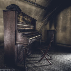Diminished Chords (danielritchiephoto) Tags: old longexposure travel light shadow urban art abandoned broken church beautiful beauty dark lost scary chair ruins theater shadows darkness theatre pennsylvania decay empty explorer ghost piano wideangle indoor creepy adventure explore pa sombre forgotten urbanexploration fallen horror haunting discarded grime filth exploration filthy ghostly somber derelict wrecked hdr haunt eastcoast darkphotography urbex grimy lostplace beautyindecay abandonedporn