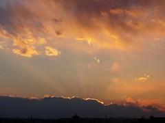 #6715 sunset and clouds (Nemo's great uncle) Tags: sunset  setagaya  setagayaku tky  seij  fujimibashi