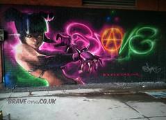 priestess.   by Brave one. (brave one) Tags: graffiti painted spraypaint graff spraycanart graffitiart graffitimurals graffitimural spraycanartist
