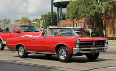 1965 Pontiac LeMans GTO Convertible (SPV Automotive) Tags: red classic car convertible pontiac gto lemans 1965
