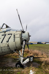 (B.B.Photography.) Tags: urban abandoned plane nikon navy royal d750 fairey t5 nikkor exploration f4 gannet errol 24120