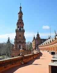 Plaza de Espaa (Sevilla) (DAGM4) Tags: espaa sevilla andaluca spain espanha europa europe seville espana andalusia espagne plazadeespaa espagna andalusie espainia espanya  spainsquare plazadeespaasevilla       espainiakoplaza  sevillako  laplacedespagne