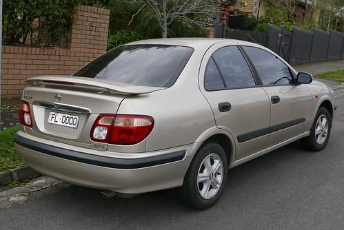 2003 Nissan Pulsar (N16) ST-L sedan