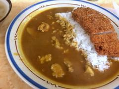 Curry topped with deep-fried pork from Sakaeya @ Ueno (Fuyuhiko) Tags: from tokyo with ueno curry pork 東京 上野 topped deepfried カレー sakaeya さかえや カツカレー カレーの店 サカエヤ