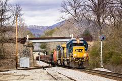 Dossett (Peyton Gupton) Tags: railroad train oak tn knoxville tennessee clinton sub rail railway trains ridge searchlight kd searchlights csx csxt dossett