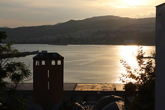 Kavala, Greece (theofano_skipetari) Tags: sunset sea seascape cityscape greece timeless reflaction macedonian makedonia  macedoniagreece