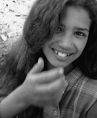 Nina (Panoussiadis.) Tags: people bw marocco