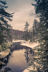Arrowhead Provincial Park, Ontario (Satelitas) Tags: winter snow ice river arrowhead provincialpark