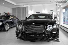 Bentley Continental GT V8 (Alexandre Prvot) Tags: auto cars car sport automobile european parking transport automotive voiture route exotic luxembourg lux supercar luxe berline exotics supercars ges dplacement worldcars autofestival grandestsupercars