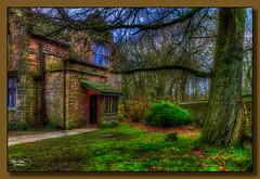 Turton Tower (Thanks For Your Kind Support) Tags: trees house monument grass architecture landscape northwest britain lancashire historical 1855mm hdr chapeltown 15thcentury turtontower gradeilistedbuilding kevinwalker canon1100d