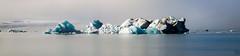 Supreme (Jake's Gallery) Tags: panorama sun lake ice water landscape iceland wide floating lagoon glacier iceberg majestic drift jökulsárlón glacial