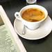 Long black coffee time at Pardon in Prahran