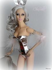 Sybarite Chinchila (falconheri) Tags: metal fashiondoll chinchila sybarite superdoll superfrock