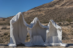 Ghosts (Hiking Mountains) Tags: sculpture mountains desert nevada unitedstatesofamerica ghosts rhyolite nyecounty