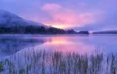 Loch Achray (J McSporran) Tags: reflections landscape dawn scotland trossachs lochachray dawnmist