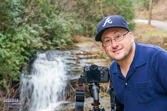 Waterfall Photographer (The Suss-Man (Mike)) Tags: selfportrait me nature water creek georgia waterfall rocks dof bokeh falls northgeorgia selfie week7 northgeorgiamountains sauteenacoochee whitecounty beancreek thesussman themethisisme sonyslta77 sussmanimaging beancreekfalls 52in2016