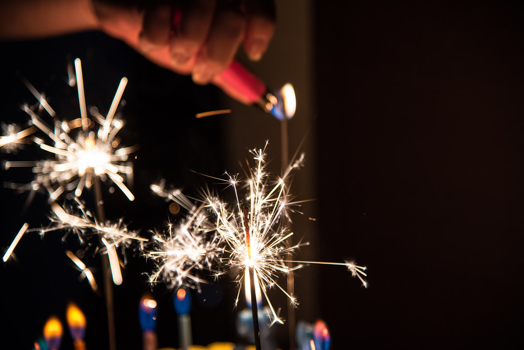 The Worlds Best Photos of birthday and sparkler Flickr Hive Mind