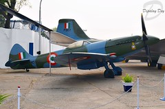 Indian Air Force Supermarine Spitfire XVIIIE HS986 (Dipalay) Tags: museum delhi spitfire warbird supermarine iaf palam