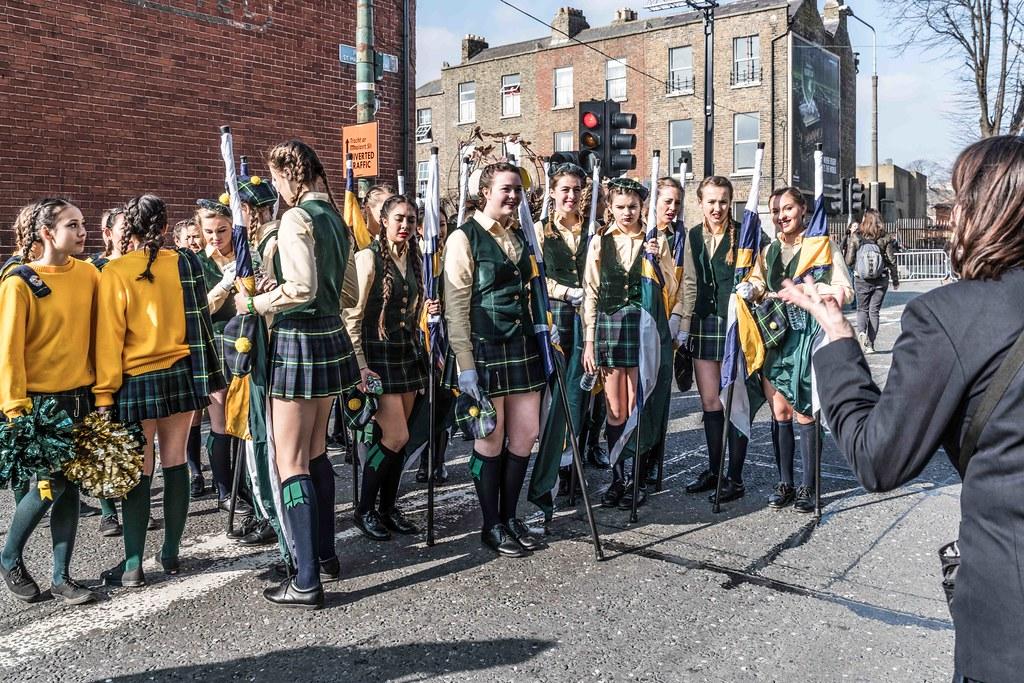 SHORECREST HIGH SCHOOL [ST. PATRICK'S PARADE IN DUBLIN 2016]-112216