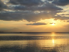 Healing sunset. (Christos Andreou) Tags: sunset landscape mediterranean ngc greece coastline meditation raysofsun loutraki corinthia beautifulworld sealandscape seasunset hdrphotos corinthiangulf samsunggalaxykzoomsamples opticalzoomphotos