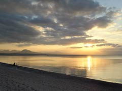 Healing sunset. (2) (Christos Andreou) Tags: sunset landscape fishing mediterranean relaxing coastline meditation sealandscape seasunset hdrphotos cloudylandscape samsunggalaxykzoomsamples opticalzoomphotos