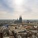 Köln Dom Luftbild - cologne aerial