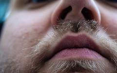 Montagsgesicht 81/366 (Skley) Tags: gesicht bart mann stress nase nahaufnahme lippen montag 2016 80366