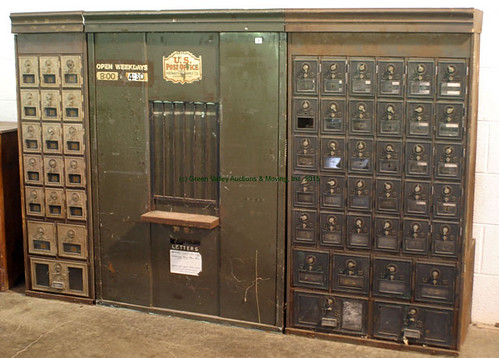 Post Office Set Up - $440.00 (Sold July 17, 2015)